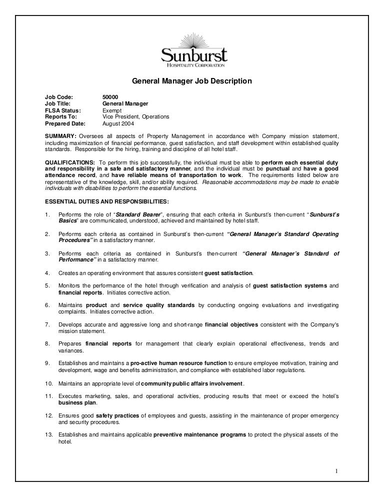 Warehouse Manager Job Description. Logistics Manager Cv Template