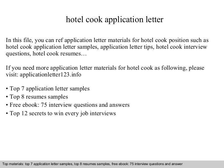 SlideShare  Resume For Cooks