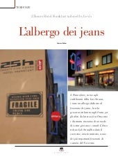 Hotel Domani 25 Hours Hotel Frankfurt Taylored by Levis - Albergo dei jeans