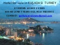 Hotel for sale in kuşadasi  turkey
