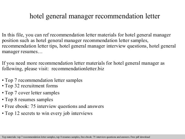 hotelgeneralmanagerrecommendationletter140826220041phpapp01thumbnail4jpgcb1409090468