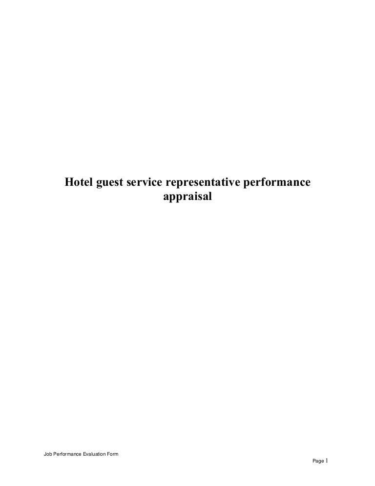 guest service representative