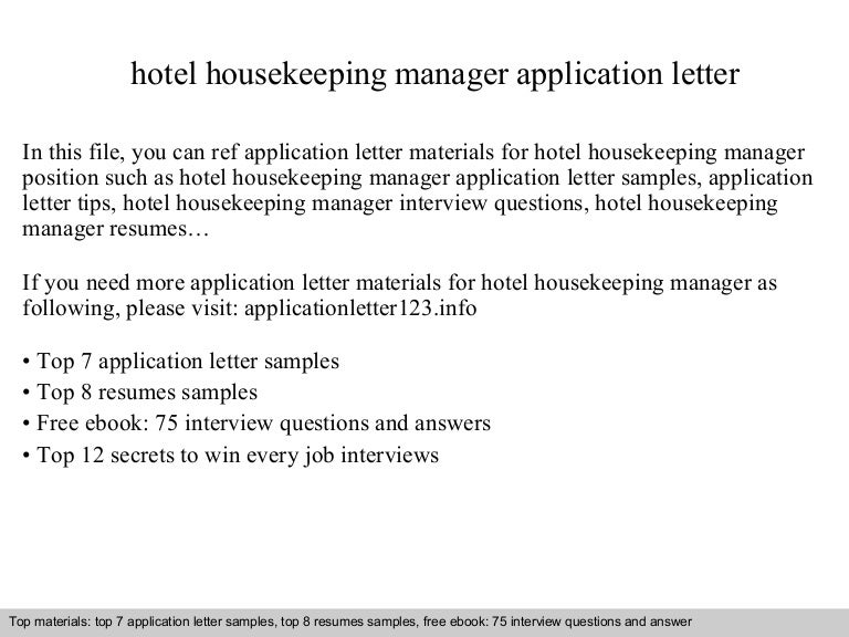 Hotelhousekeepingmanagerapplicationletter 141001093232 Phpapp02 Thumbnail 4?cbu003d1412157622