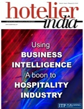 Using BI - A boon to Hospitality Industry