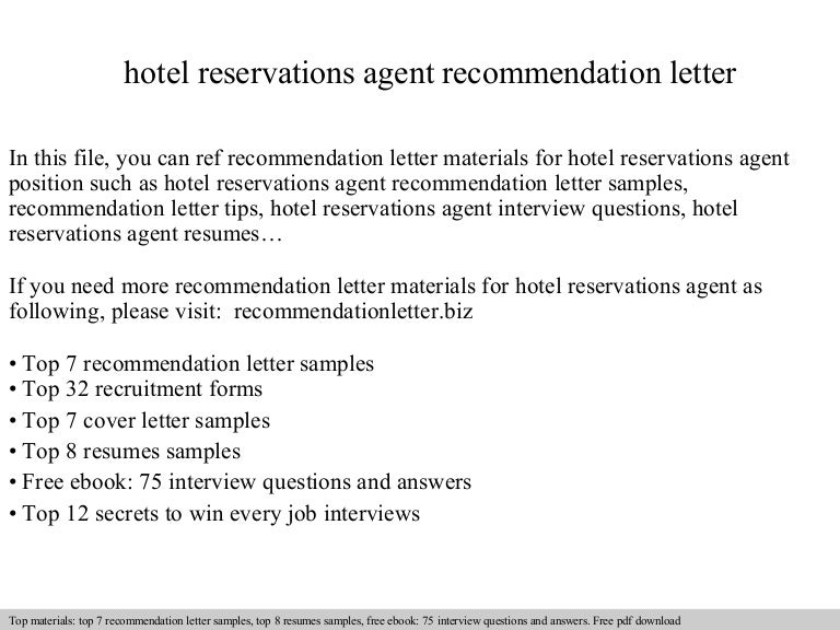 Reservation Agent Cover Letter. Bad Cover Letters Good Cover ...