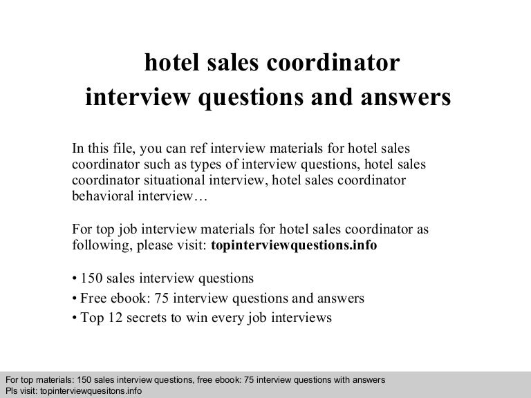 SlideShare  Hotel Interview Questions