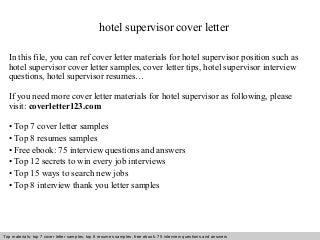 Cover Letter Per Kitchen Porter   Cover Letter Templates Pinterest