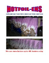 Resistance Heating Mats for Welding Pre and Post Heat Treatment
