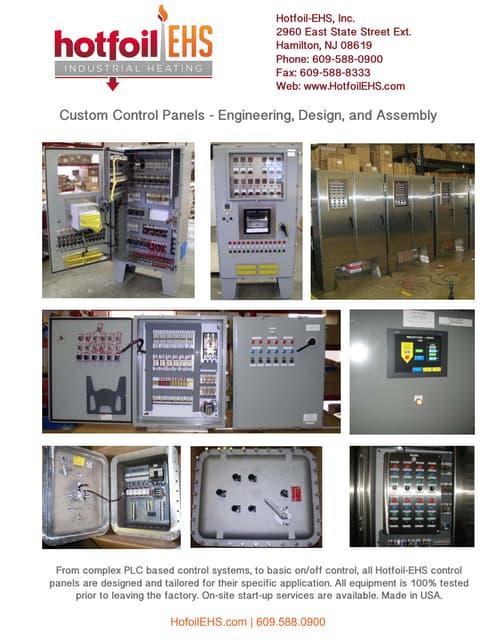 Hotfoil-EHS Custom Control Panels