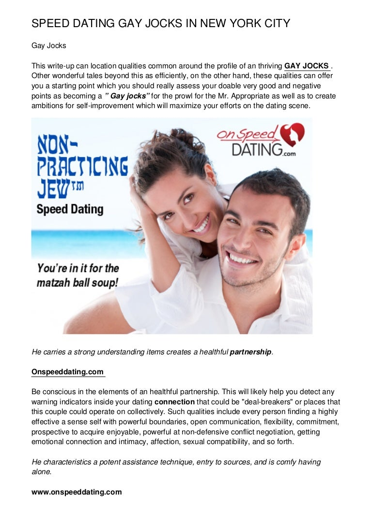 NYC hastighet dating 20