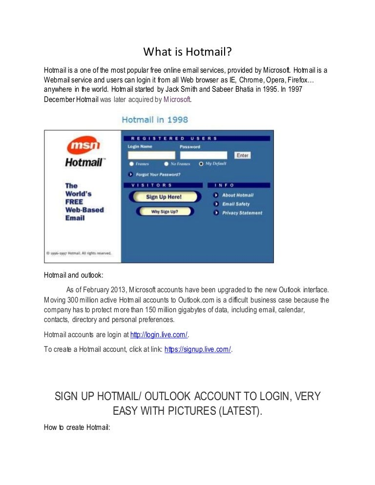 hotmail hotmail login what is hotmail hotmail sign up hotmail ent