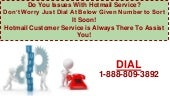 Call 1-888-809-3892 Hotmail Customer Service Against Mail Issues