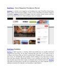 Hot news   news magazine wordpress theme