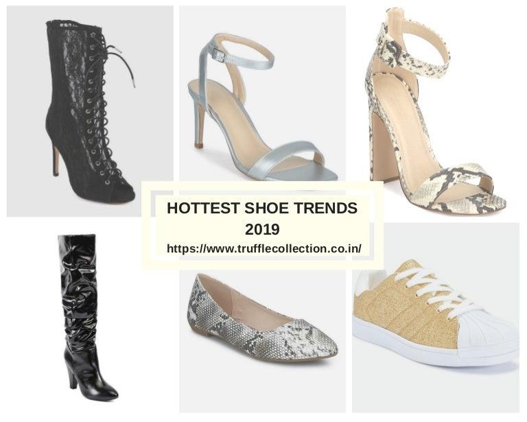Hottest shoe trends 2019