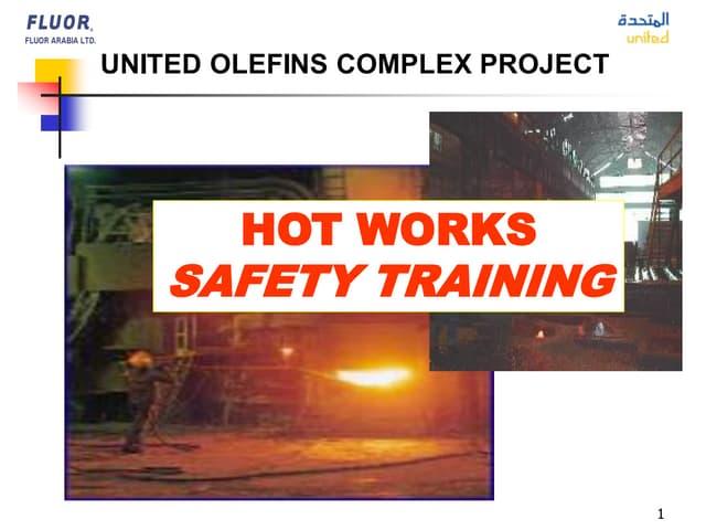 Hot Works Safety Training
