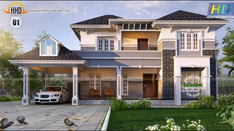 New Kerala house plans October 2015