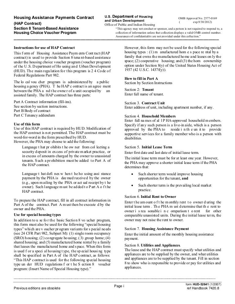 Housing Assistance Payments_Contract_(Section_8)