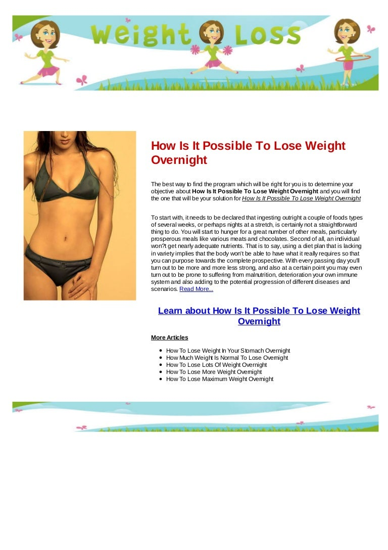 New life weight loss products