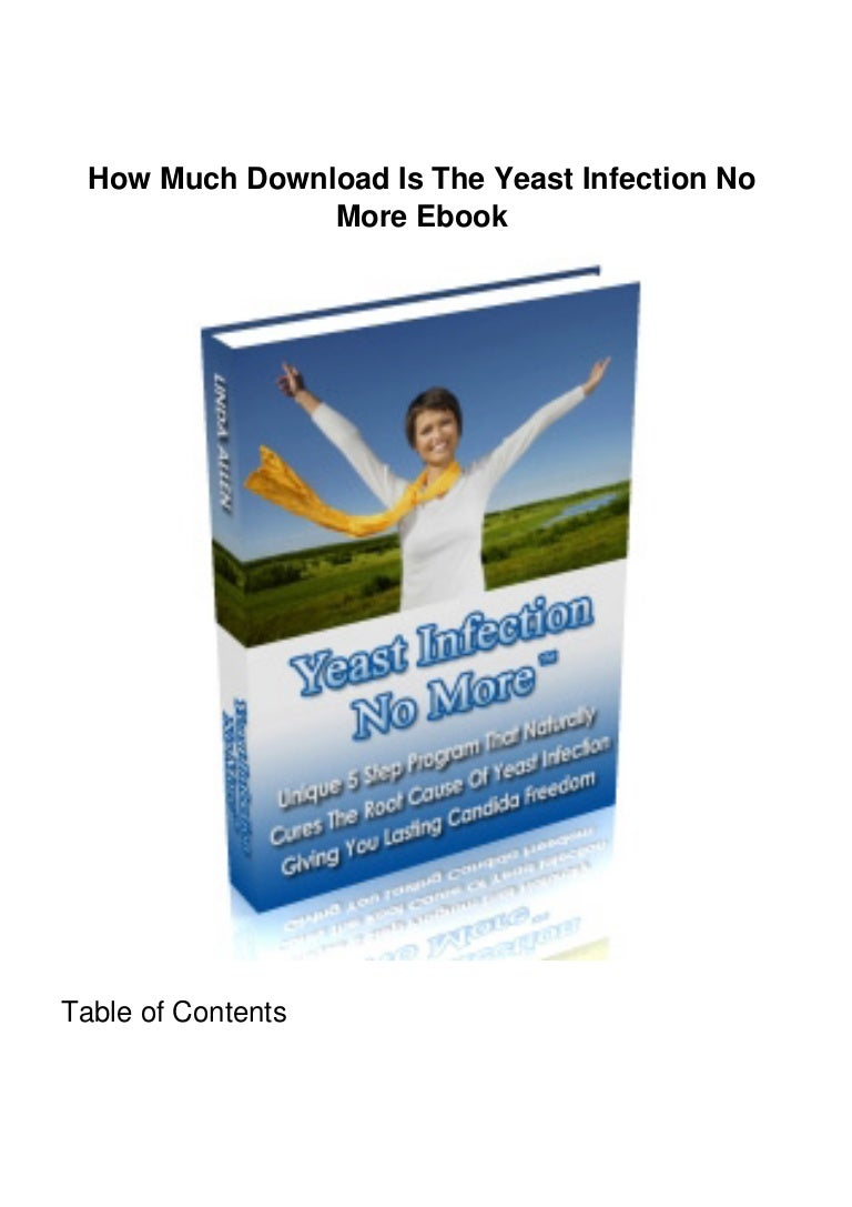 Ebook no yeast infection download more