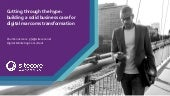 Sitecore & Microsoft Breakfast: Building a business case for transformation