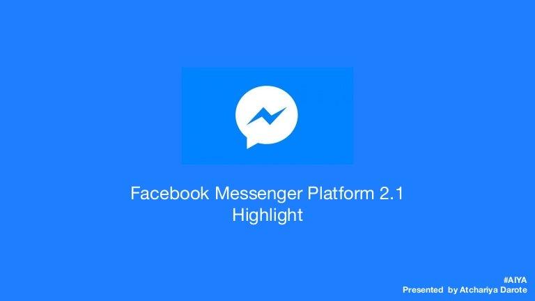 Facebook messenger download handy