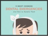 How to Handle the Most Common Dental Emergencies