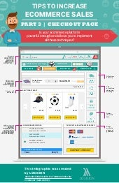 How to increase sales in online shop infographic | Part3 - Checkout page