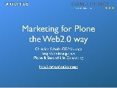 How to market Open Source projects the Web2.0 way