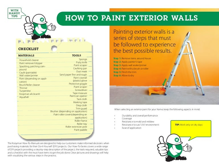 PBJ Painting | How to painting exterior walls