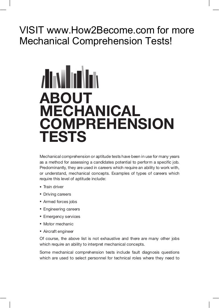 mechanical engineering test questions Mechanical engineering is regarded as a highly competitive engineering trade that requires great mathematical skills as well as an unquenchable thirst for physics learn more about each subject in this meticulously designed practice test series, online test on mechanical engineering.