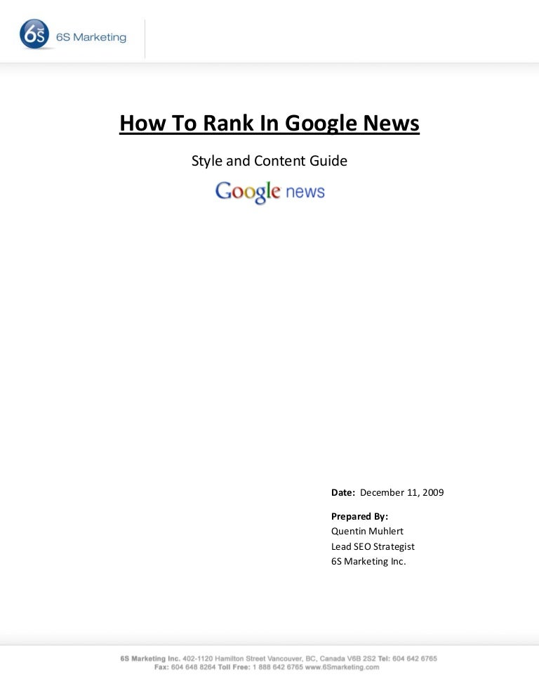 how to rank in google news 091229112853 phpapp01 thumbnail 4 jpg cb 1262086165