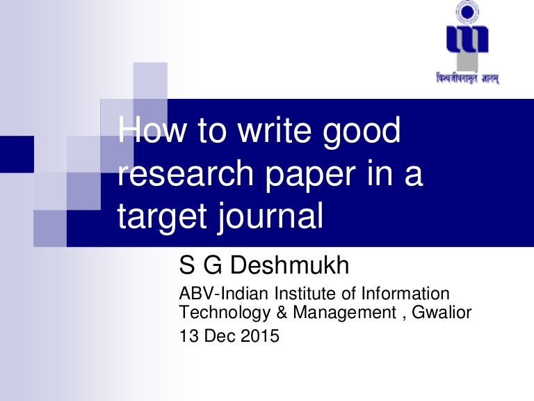 medical research paper SlideShare How to write a good transfer essay research proposal research quot How to  write a good