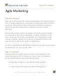 Getting Started with Agile Marketing How-To Guide