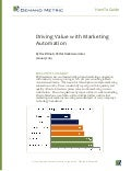 How-To Guide: Driving Value with Marketing Automation