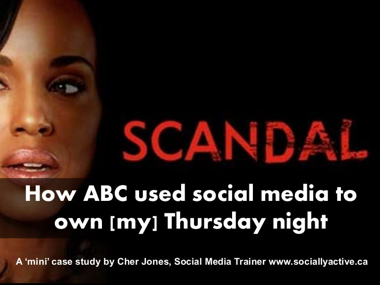 How Abc S Scandal Used Social Media To Own Thursday Night Tv