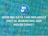 How big data can influence digital marketing and advertising?