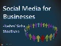 How Businesses can use Social Media (talk at TiE workshop)