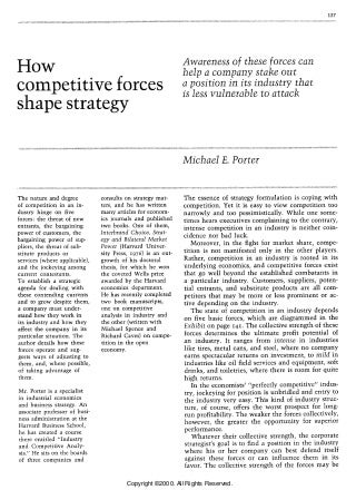5 competitive forces that shape strategy pdf