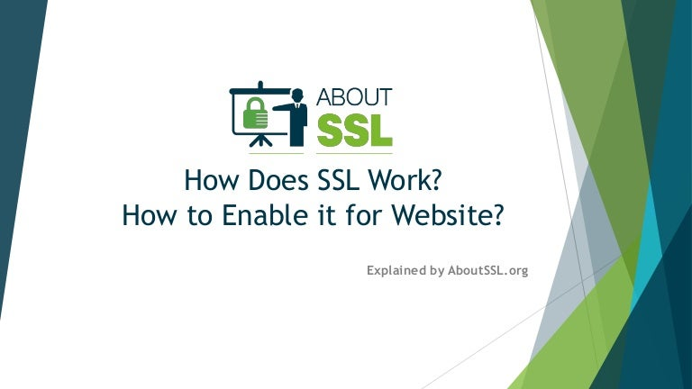 Sitehttpsfaithroots Net: How Does SSL Work? How To Enable It For Website?