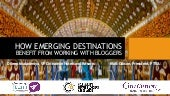 How Emerging Destinations Benefit From Working With Travel Bloggers