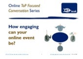 How engaging can your online event be? (chat)