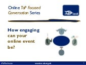 How engaging can your online session be? (slides)