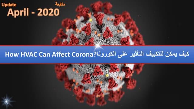 How HVAC Can Affect Corona-كيف يمكن للتكييف التأثير على الكورونا_by Getco- FANtastic