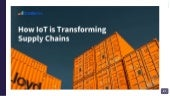 How io t is transforming supply chains