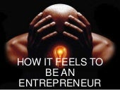 How it feels to become an entrepreneur