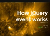 How jQuery event works