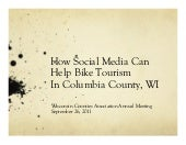 How Social Media Can Help Biking in Columbia County WI