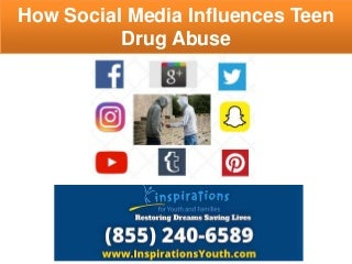 How social media impacts teen drug abuse