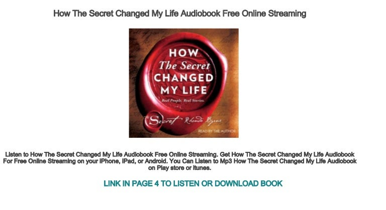 you changed my life watch online free