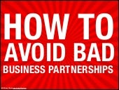 How to avoid bad business partnerships